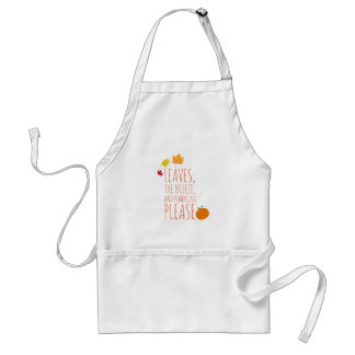 Leaves, Breeze, and Pumpkins Apron