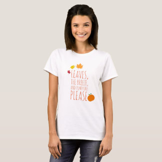 Leaves, breeze, and pumpkins shirt