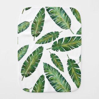 Leaves Burp Cloth