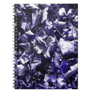 Leaves - Denim Blue Notebooks