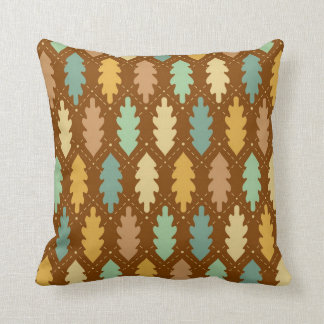 Leaves Design Throw Pillow