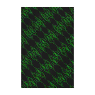 Leaves Evergreen Canvas Print