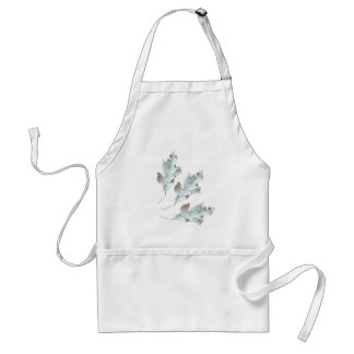 Leaves in the Fall Standard Apron