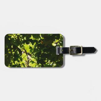 Leaves Luggage Tag