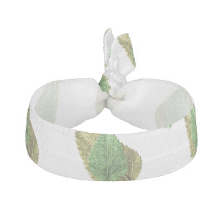 Leaves Motif Nature Pattern Hair Tie