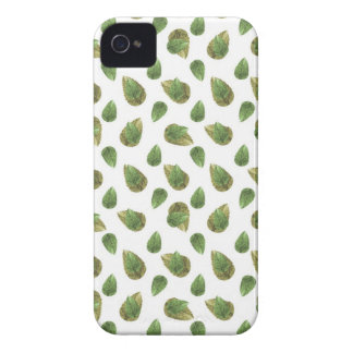 Leaves Motif Nature Pattern iPhone 4 Cover