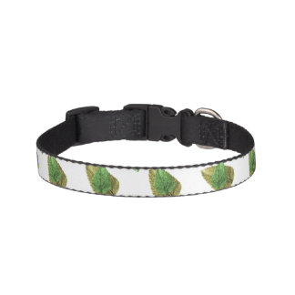 Leaves Motif Nature Pattern Pet Collar
