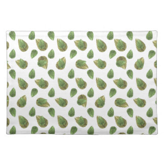 Leaves Motif Nature Pattern Placemat
