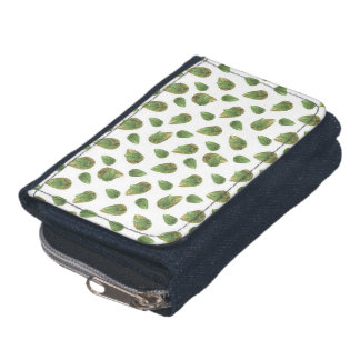 Leaves Motif Nature Pattern Wallets