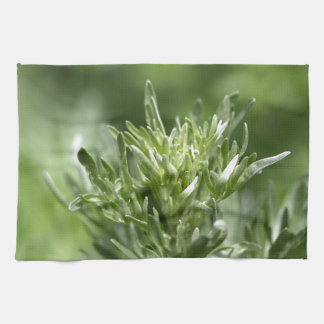 Leaves of absinthe hand towels