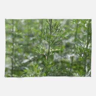 Leaves of absinthe towel