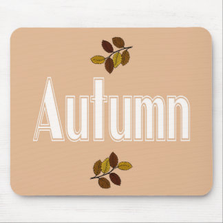 Leaves of autumn mouse pad