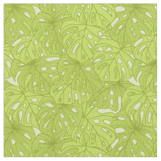 Leaves of Palm Tree Fabric