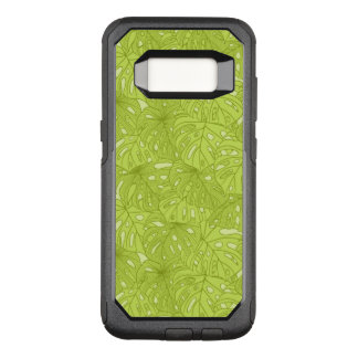 Leaves of Palm Tree OtterBox Commuter Samsung Galaxy S8 Case