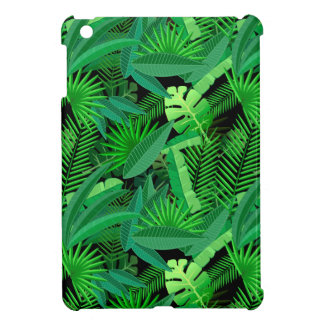 Leaves Of Tropical Palm Trees iPad Mini Cases