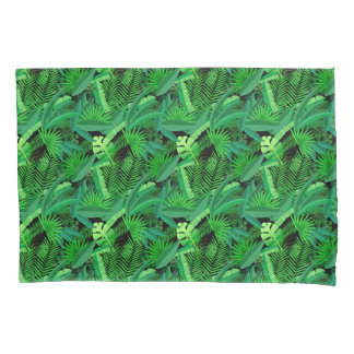 Leaves Of Tropical Palm Trees Pillowcase