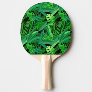Leaves Of Tropical Palm Trees Ping Pong Paddle