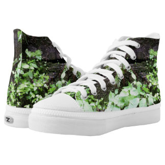Leaves on the Run High Top Sneakers