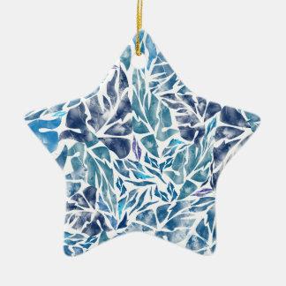 leaves pattern  A Ceramic Ornament