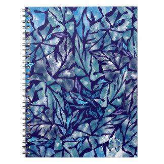 leaves pattern  B Notebooks