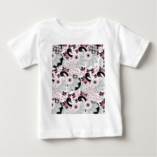 leaves pattern C Baby T-Shirt