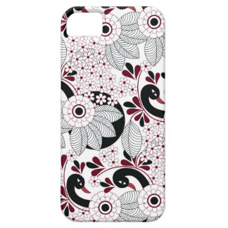 leaves pattern C Case For The iPhone 5