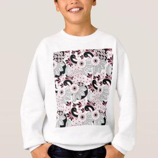 leaves pattern C Sweatshirt