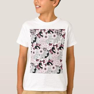 leaves pattern C T-Shirt