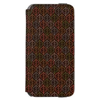 Leaves pattern incipio watson™ iPhone 6 wallet case