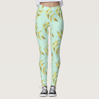 Leaves sea breams leggings