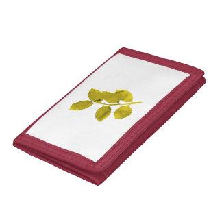 Leaves Tri-fold Wallet