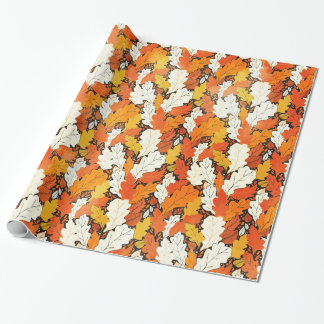 Leaves Wrapping Paper