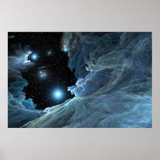 Leaving the Poseidon Nebula -2009 Poster