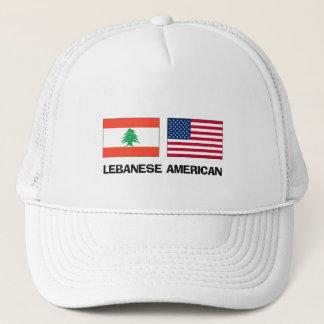 Lebanese American Trucker Hat