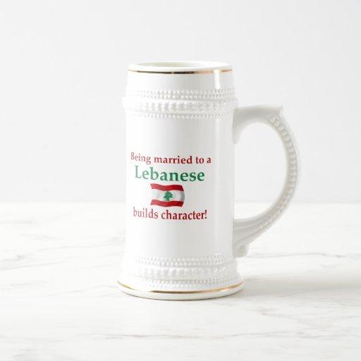 Lebanese Builds Character Mug
