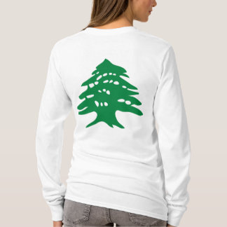 Lebanese cedar women's full sleeve T-Shirt