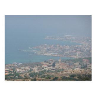Lebanese Coast Postcard