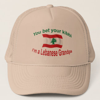 Lebanese Grandpa - Bet Your Kibbi Trucker Hat