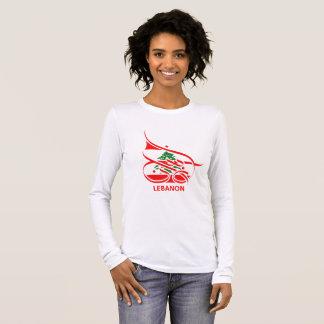 Lebanon لبنان long sleeve T-Shirt