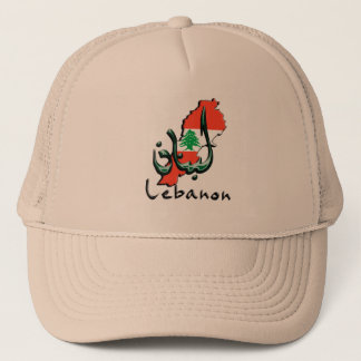 Lebanon 3D bilingual Ball Cap