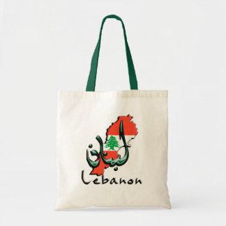 Lebanon 3D bilingual Tote Bag