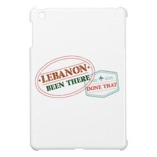 Lebanon Been There Done That Cover For The iPad Mini