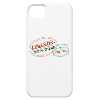Lebanon Been There Done That iPhone 5 Cases