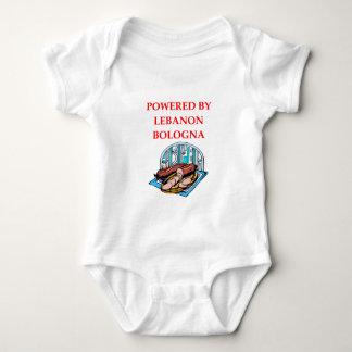 LEBANON BOLOGNA BABY BODYSUIT