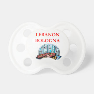 LEBANON BOLOGNA PACIFIER