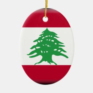 Lebanon Ceramic Ornament