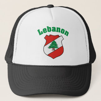 Lebanon Coat of Arms Hat / Lebanese Flag