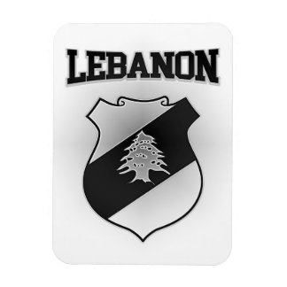 Lebanon Coat of Arms Magnet