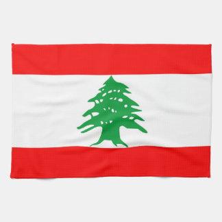 lebanon country flag towel