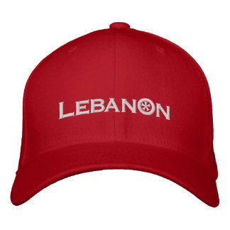 Lebanon Embroidered Hat